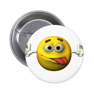 Thumbs Up Smiley Face character Pin