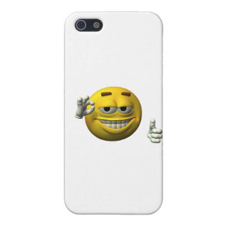 Thumbs Up Smiley Face character Cover For iPhone 5
