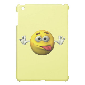 Thumbs Up Smiley Face character iPad Mini Cases