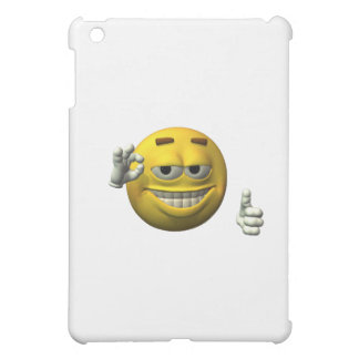 Thumbs Up Smiley Face character iPad Mini Cover