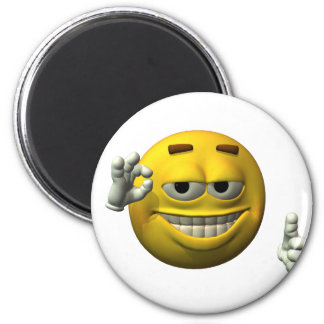 Thumbs Up Smiley Face character Magnet