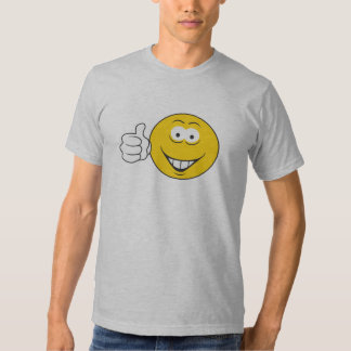 Thumbs Up Smiley Face T Shirt
