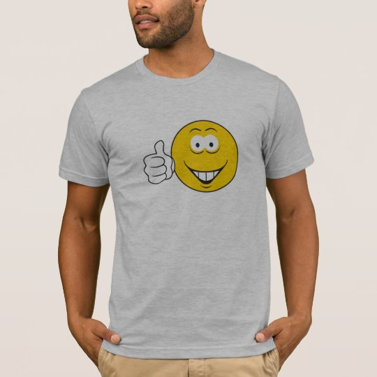 Thumbs Up Smiley Face T-Shirt