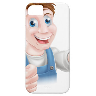 Thumbs up spanner mechanic iPhone 5 case