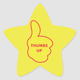 Thumbs Up Teacher Stickers
