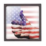 Thumbs up to the US! Premium Trinket Box
