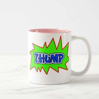 Thump Two-Tone Coffee Mug