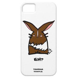 Thumper Doodle iPhone Case (Chocolate Dutch)