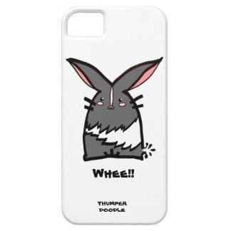 Thumper Doodle iPhone Case (Gray Dutch)