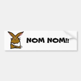 Thumper Doodle Nom Nom Car Sticker