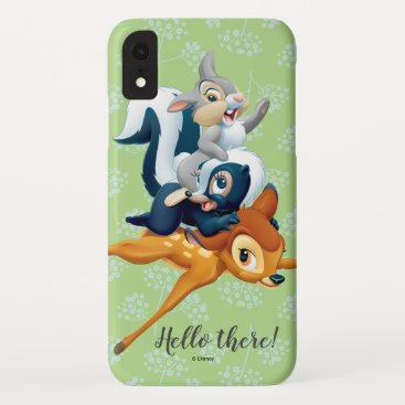 Thumper, Flower, & Bambi Stacked During Play iPhone XR Case
