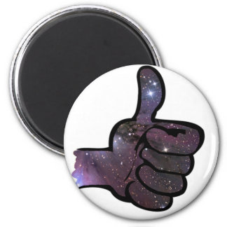 Thumps Up Refrigerator Magnet