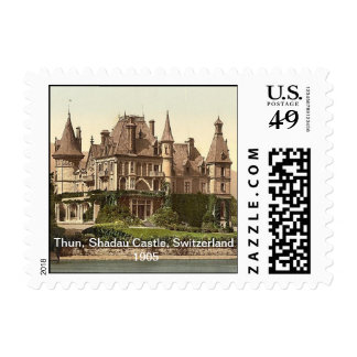 Thun, Shadau Castle, Switzerland 1905 Postage