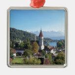 Thun, Switzerland landscape Christmas Tree Ornament