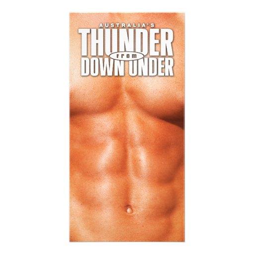 Thunder Abs Rack Card Photo Card