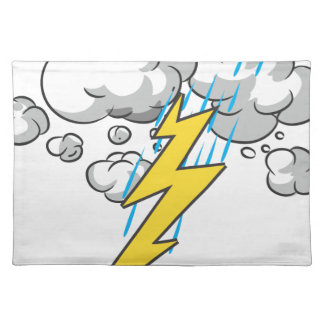 Thunder And Lightning Placemat