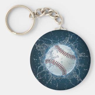 Thunder Baseball Keychain