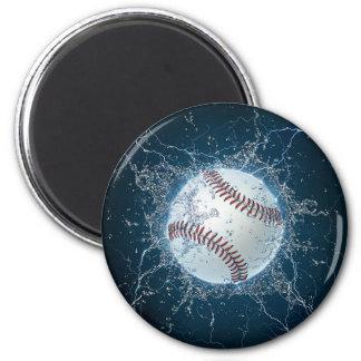 Thunder Baseball Magnet