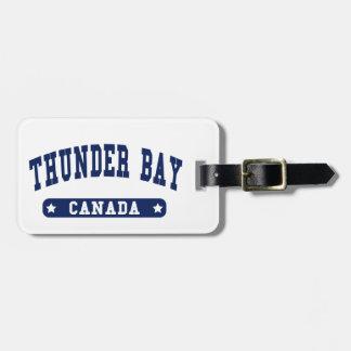 Thunder Bay Bag Tag