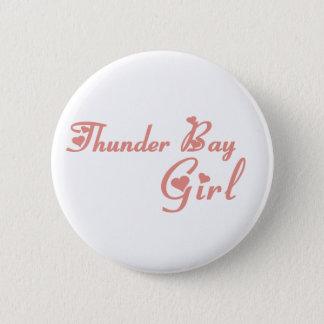 Thunder Bay Girl Pinback Button