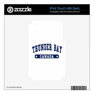 Thunder Bay iPod Touch 4G Skins