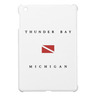 Thunder Bay Michigan Scuba Dive Flag Cover For The iPad Mini