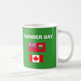 Thunder Bay * (Ontario) taza del código del