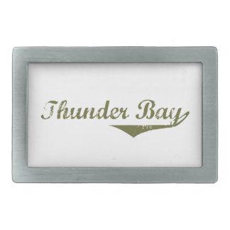 Thunder Bay Rectangular Belt Buckle