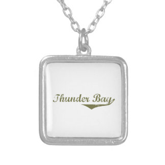 Thunder Bay Silver Plated Necklace