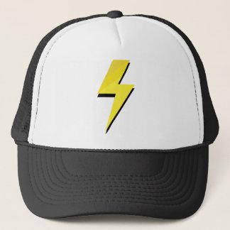 Thunder Bolt Flash Trucker Hat