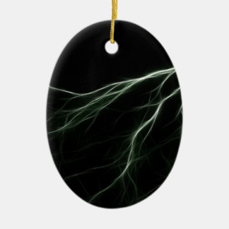 Thunder Ceramic Ornament
