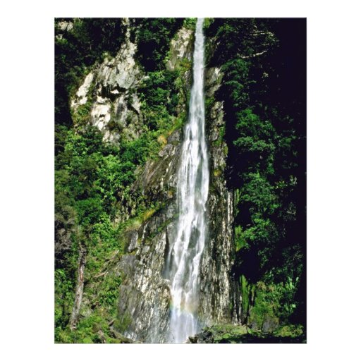 Thunder Creek Falls Personalized Flyer