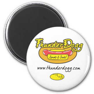 Thunder Dogg Spuds and Suds Magnet