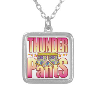 Thunder Flowery Pants Necklace