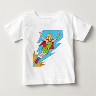 Thunder Girl Flying Baby T-Shirt