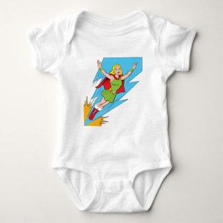 Thunder Girl Flying Infant Creeper