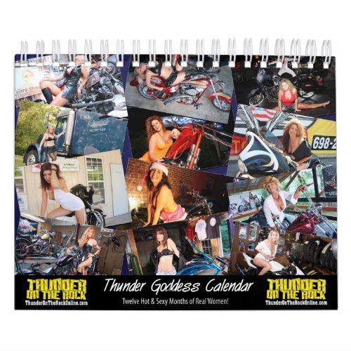 Thunder Goddess Calendar calendar
