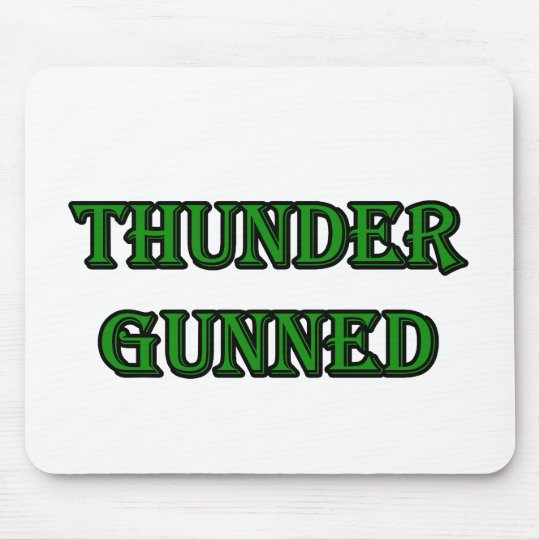Thunder Gunned Mouse Pad