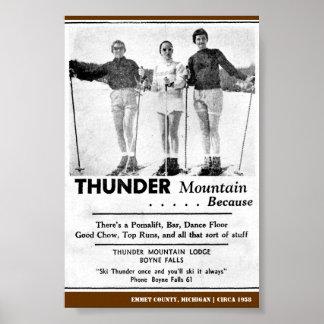 Thunder Mountain 1958 Poster