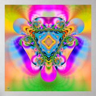 Thunder Mountain. poster print fractal explosion