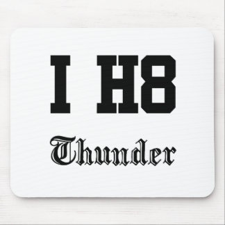 thunder mouse pad