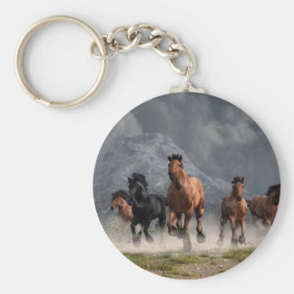 Thunder on the Plains Keychain