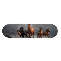 Thunder on the Plains Skateboard Deck