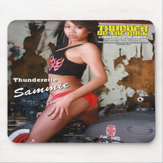 Thunder on the Rock Mousepad
