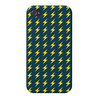 Thunder Pattern iPhone 4 Case