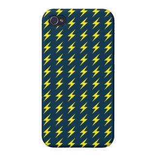 Thunder Pattern iPhone 4 Case