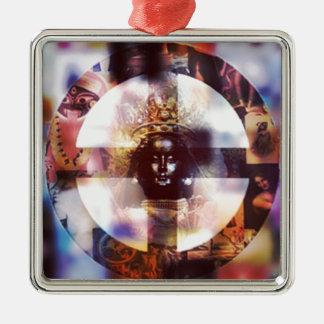 Thunder Perfect Mind Metal Ornament