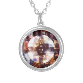 Thunder Perfect Mind Round Pendant Necklace