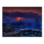 thunder ridge blue post cards