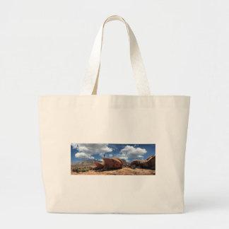 Thunder River Trail Esplanade - Grand Canyon Large Tote Bag